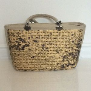 Italy Made Woven Vintage Purse
